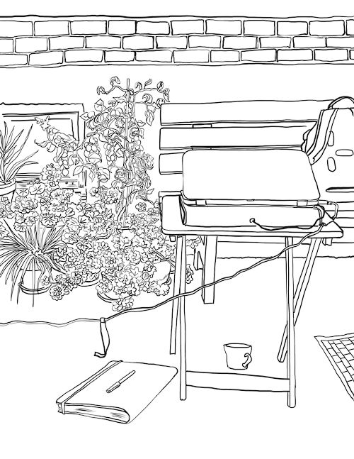 rural community coloring pages - photo#23