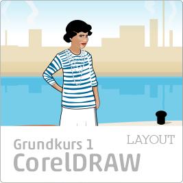 Grundkurs, onlinekurser, kurs på svenska i CorelDRAW, Corel, Draw