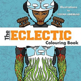 The Eclectic Colouring Book – Målarbok