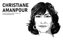 Drawing_of_Christiane-Amanpour_By_Stefan-Lindblad-Illustration_2018
