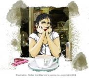 Stefan-Lindblad-Illustration-of_Mia-cafe-Bar-Italia-London2010