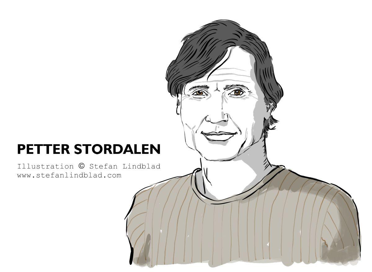 Porträtt, portrait, Petter Stordalen, Ägare av, Owner, CEO, Nordic Choice Hotels. Illustration, teckning av, Stefan Lindblad, illustratör. Illustration, 2018, HR People, Magasin, tidningen